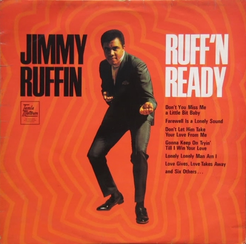 "Jimmy Ruffin : Album "" Ruff'n Ready "" Soul Records SS 708 [ US ]"