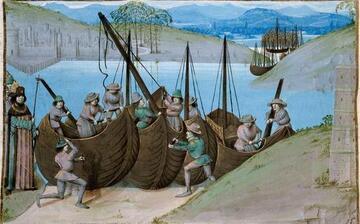 Charpentiers de bateaux
