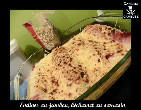 endives au jambon à la béchamel sarrasin