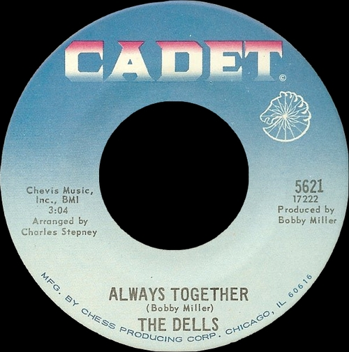 "The Dells : Album "" There Is "" Cadet Records LPS-804 [ US ]"
