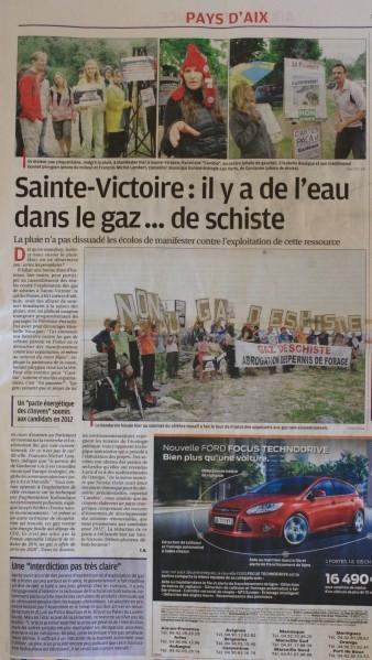 La Provence 19 juin 2011 P2