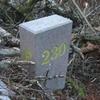 BORNE FRONTIERE NUMERO 230