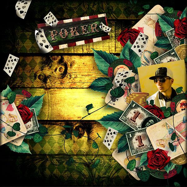 """""""Vintage Poker"""" de Valkyrie Designs"""