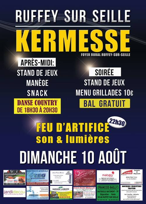 Grande kermesse de Ruffey-sur-seille