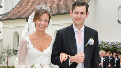 Mariage de Lord Max Percy et de Nora zu Oettingen-Spielberg