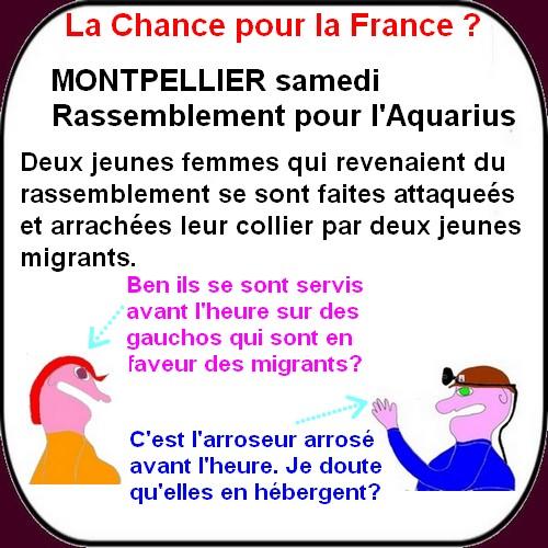Macron et LREM, l'Aquarius et les Migrants, etc..ce sont les infos du lundi.