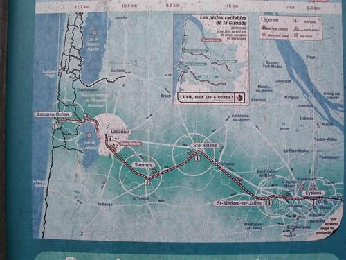 une carte du secteur