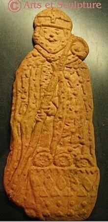 Biscuit spéculoos légende St Nicolas - Arts et Sculpture: moules et modèles