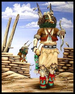 """20° Lion, """"Des indiens zunis célèbrent un rite dédié au Soleil"""""""