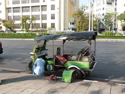 Les véhicules thaïlandais