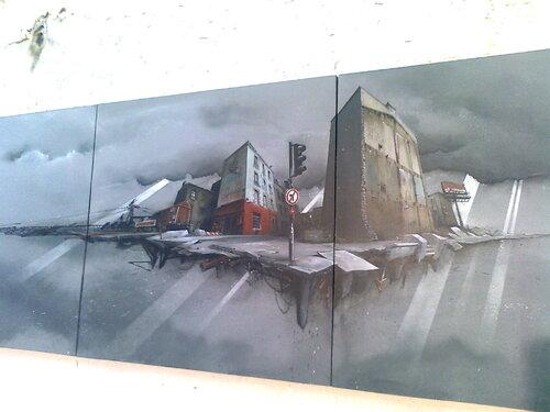 Expo Crimes of minds, street art et graffiti au Plateau des Capucins à Brest