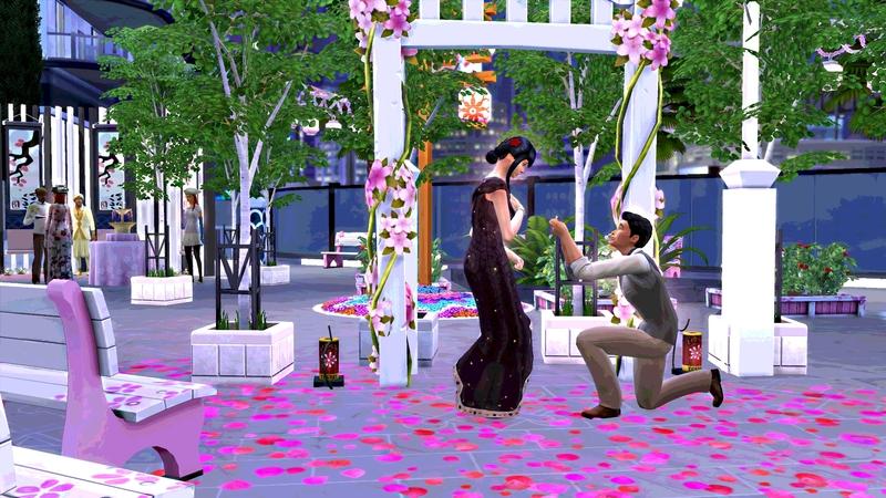 Une fin de grossesse et un mariage