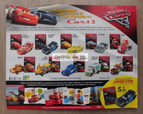 N° 1 Les bolides Cars 3 - Test