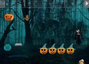 Jouer à Halloween haunted forest escape