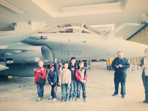 Visite à la Base Aérienne 113