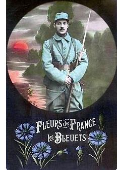 Bleuets de France ...