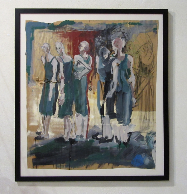 L'exposition 2019 de Karin Neumann à Nesle....