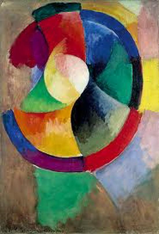 Robert Delaunay, Formes circulaires. soleil n° 2, 1912-1913