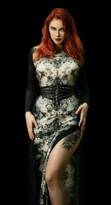 Tubes femmes gothiques création 5