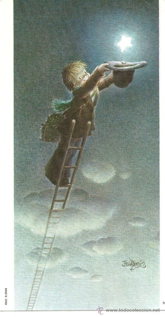 Ilustration Juan Ferrándiz- So this is how to catch a star!