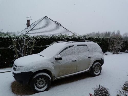 Première neige sur Radonvilliers