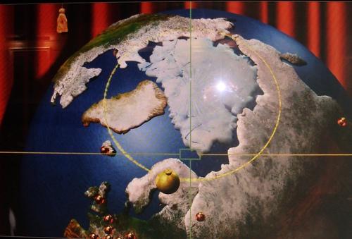 Grand tour d'Europe du nord, compris le Cercle Polaire