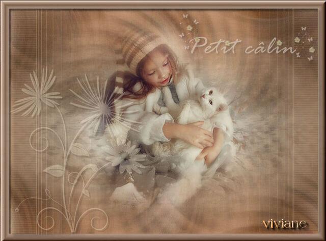 EN0029 - Tube fillette et son chat