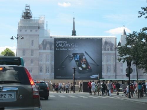 affiche géante Samsung Palais Justice 5929