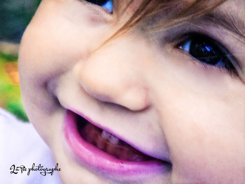Tout sourire !
