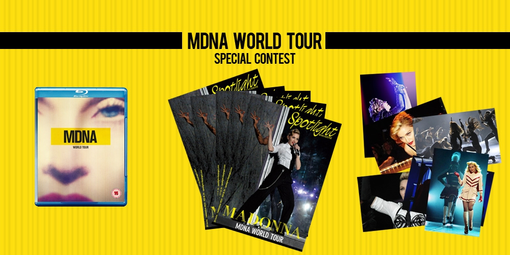 MDNAWorldTour Special Contest Gifts