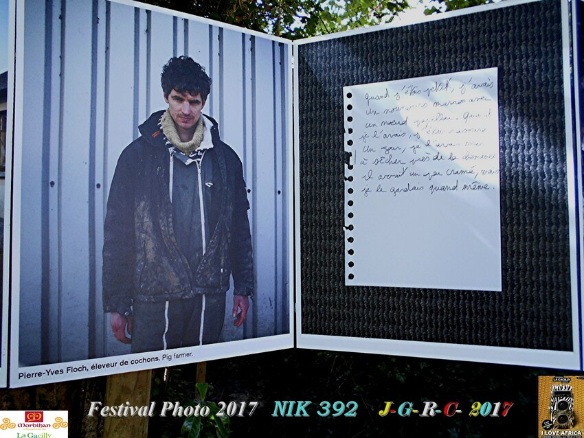 FESTIVAL PHOTO LA GACILLY # GLENAC # LA CHAPELLE GACELINE  2/2       D  10/07/2017