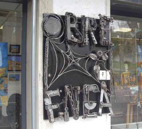 "Obre Enea, galerie des ""Artistants"" - Anglet"