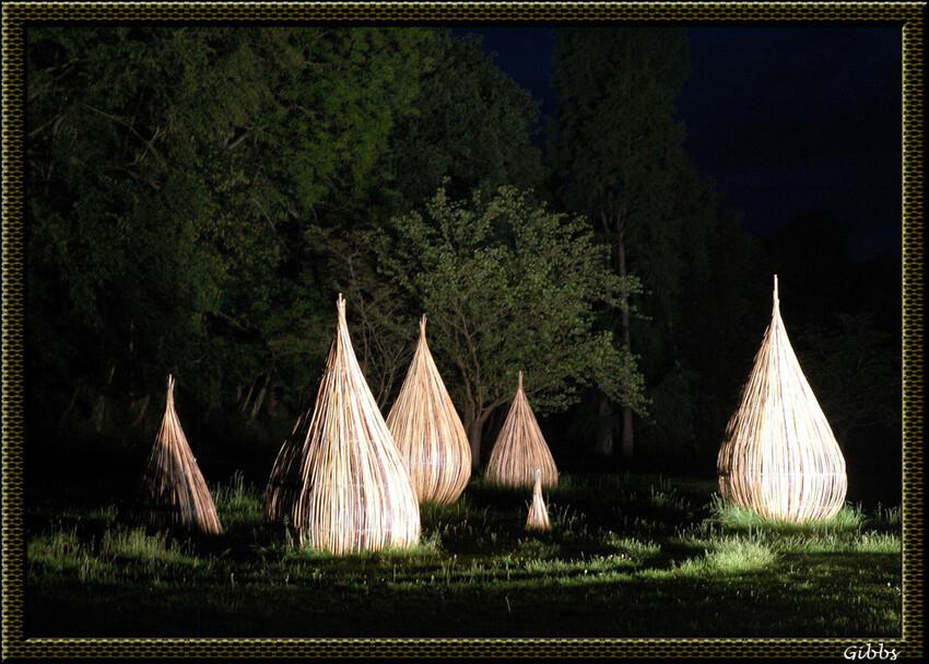 Parc oriental de Maulevrier de nuit serie 6