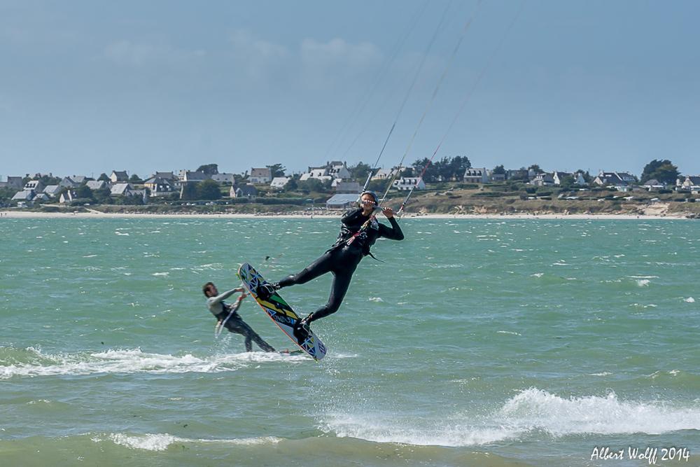 Bretagne 2014 - un peu de sport