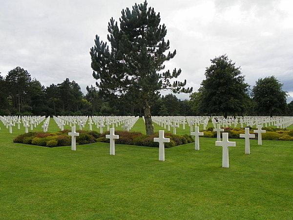 Colleville sur Mer ( cimetière américain )