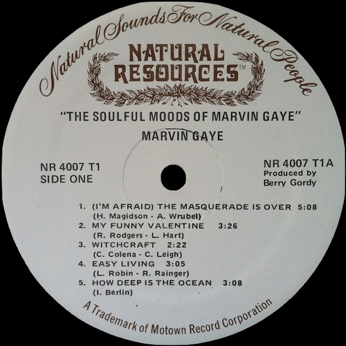 "Marvin Gaye : Album "" The Soulful Moods Of Marvin Gaye "" Tamla Records TM 221 [ US ]"