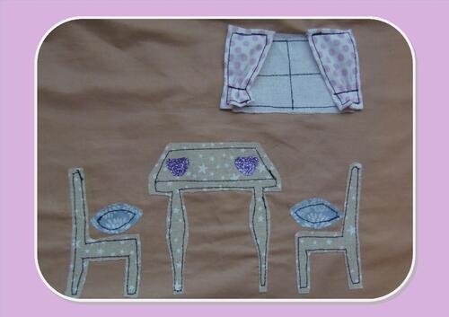 Coudre une sac maison de poupée 2