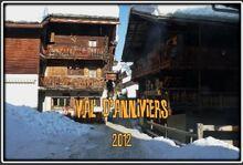Ski dans le Val d'Anniviers dans le Valais