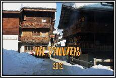 Le Val d'Anniviers dans le Valais en Suisse