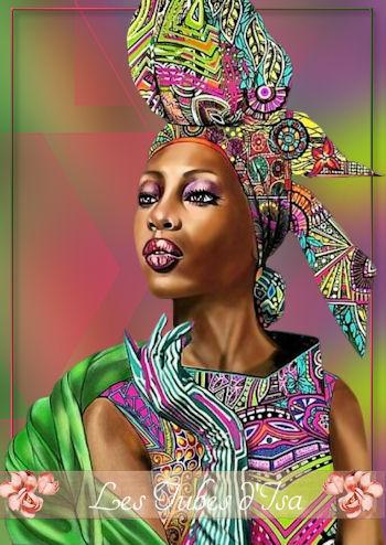 AF0004 - Tube femme africaine