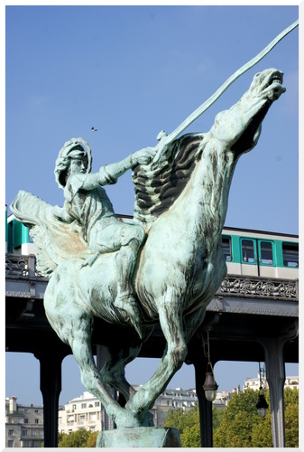 Statue Jeanne d'Arc.