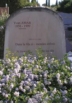 Tombe d'Yvan Amar
