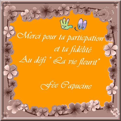 "Défi ""La vie fleurit"""