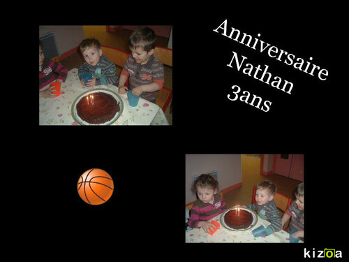 Anniversaire Nathan !