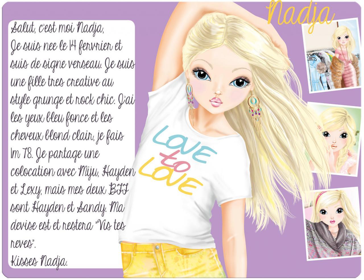Petit bonus top model de belles histoires d 39 amiti s - Photo de dessin top model ...