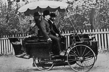 Savez vous que la plus ancienne voiture est française?