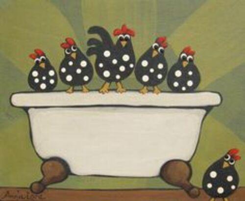 Les poules d'Annie Lane