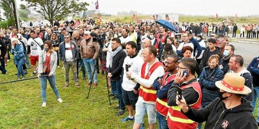Les salariés de HOP! mobilisés pour sauver leurs emplois et le site morlaisien