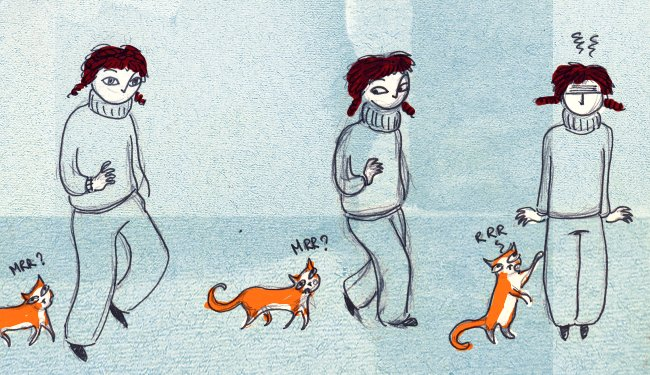Raku, le chat-chien