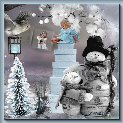 l'hiver .. créas kkuettes